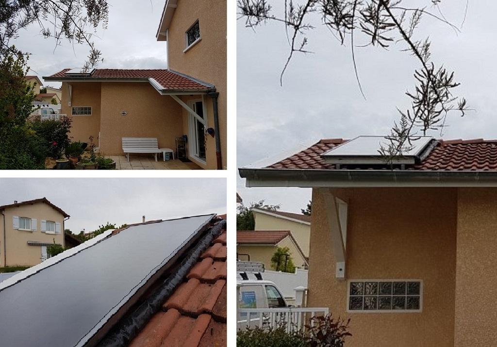 Installateur Qualisol - Remise en service d'un chauffe-eau solaire à Meyrie en Isère