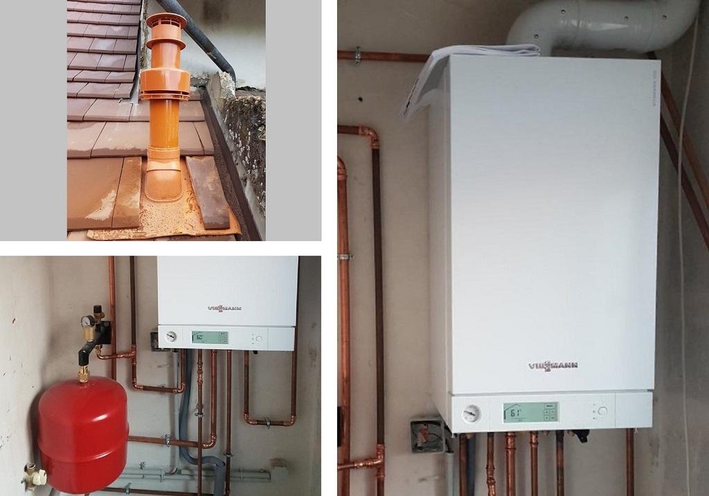 Remplacement chaudière gaz condensation Viessman à SAINT-GENIX-SUR-GUIERS