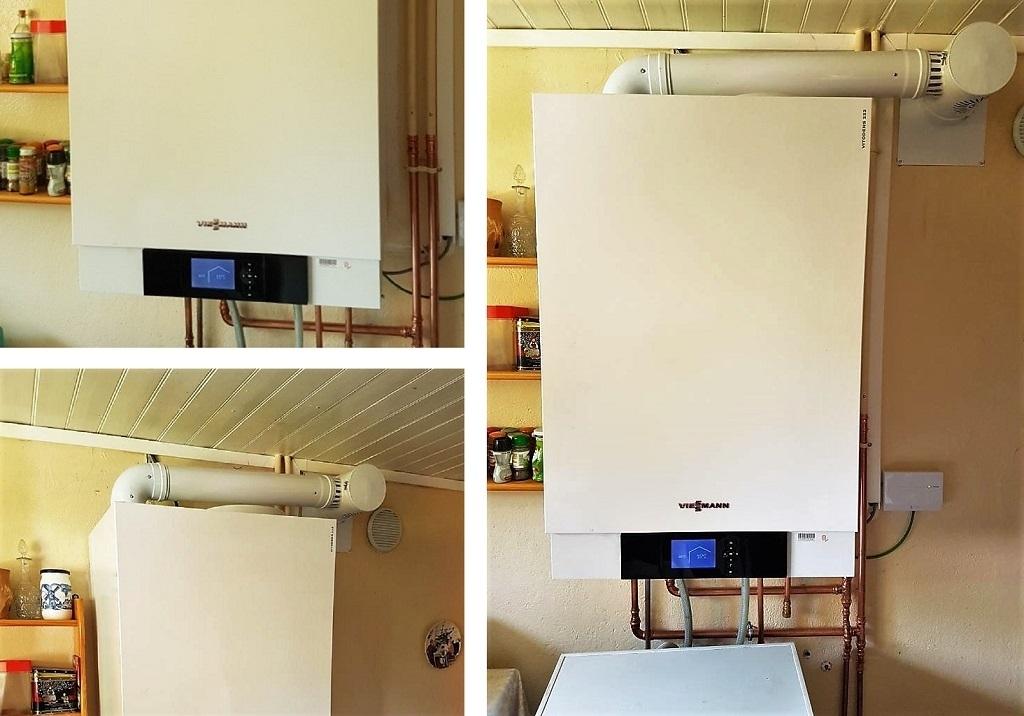 Remplacement, Installation, pose chaudière gaz condensation viessmann vitodens 100 saint-genix-les-villages