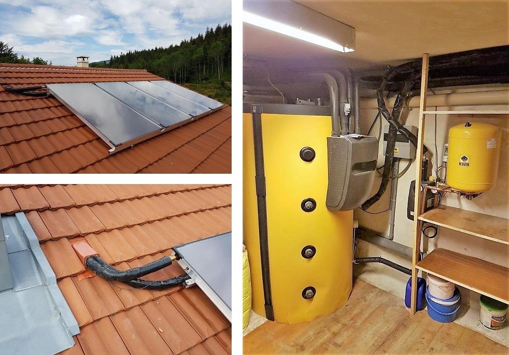 Installateur RGE Qualisol - Chauffage solaire - drôme limite Isère