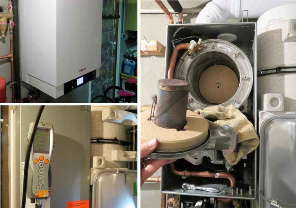Entretien chaudière gaz condensation viessmann vitodens 222 à 38090 villefontaine 38 Isère