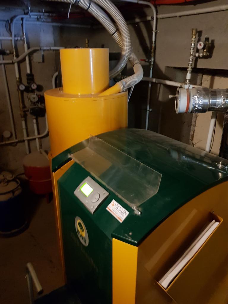 Dépannage, entretien, pose chaudière à granulés de bois pellet KWB USP dans l'ain 01