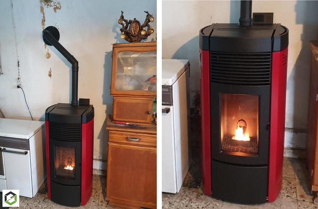 Conseil Confort Habitat, Vente et installation, par artisan chauffagiste poêle à granulés de bois MCZ