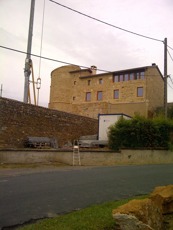 Plancher chauffant basse température de 100m² à Alix Rhône 69 Région Rhône-Alpes-Auvergne