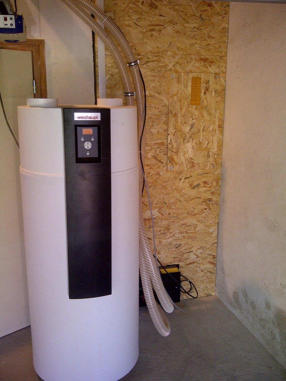 Chauffe Eau thermodynamique Weishaupt à Eyzin Pinet 38 Isère Région Rhône Alpes