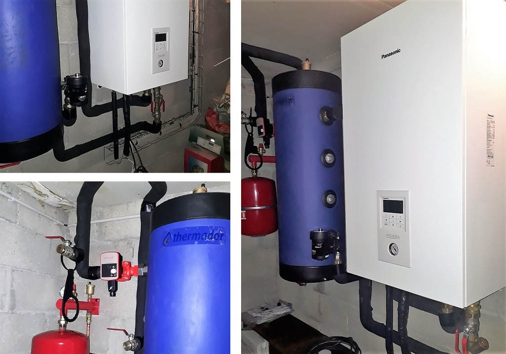 Remplacement et Installation d'une pompe à chaleur