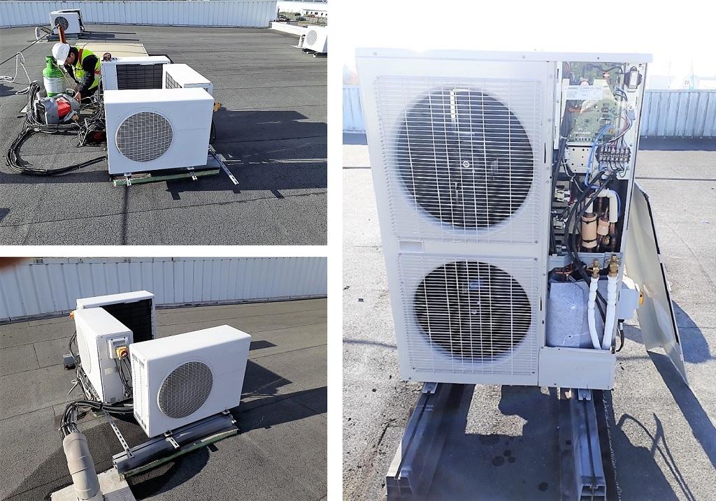 Remise au norme du système de climatisation