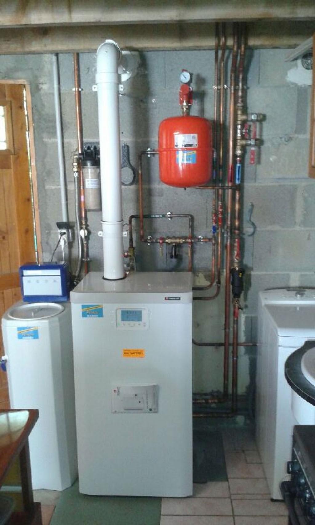 Remplacement d'une chaudière gaz condensation