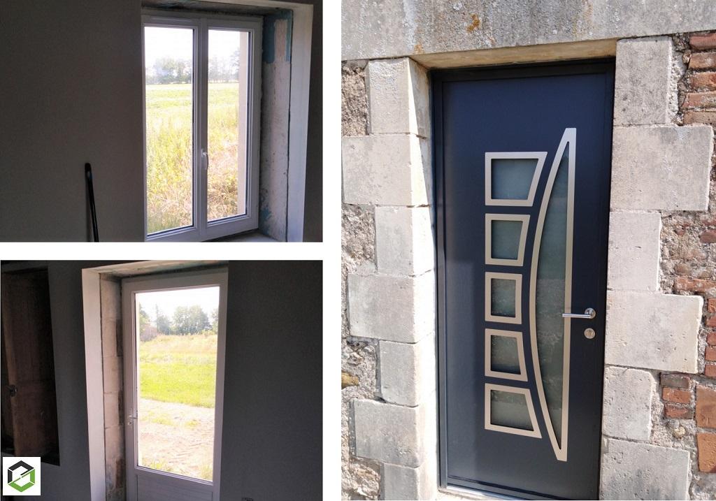 POSE DE MENUISERIE EXTERIEURE (porte et fenêtres)
