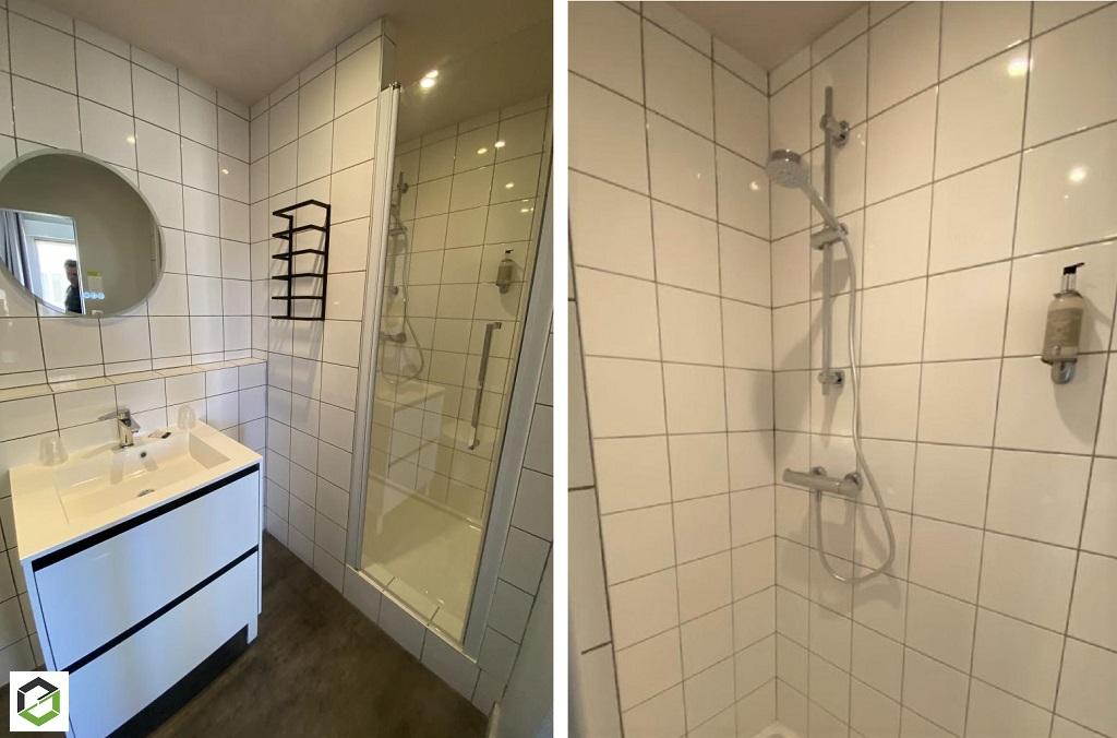 rénovation salle d'eau dans un hotel