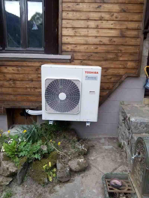 Climatisation réversible (PAC air/air) de marque Toshiba