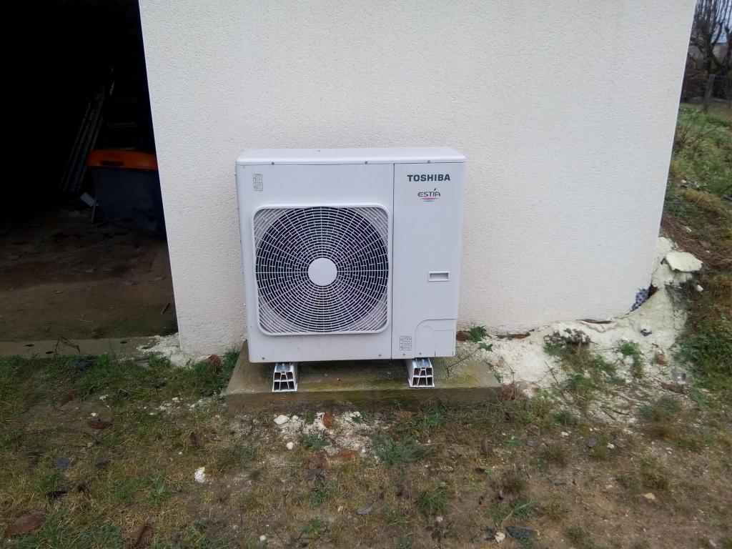 Pompe a chaleur (PAC) Air Eau (Aérothermie) TOSHIBA