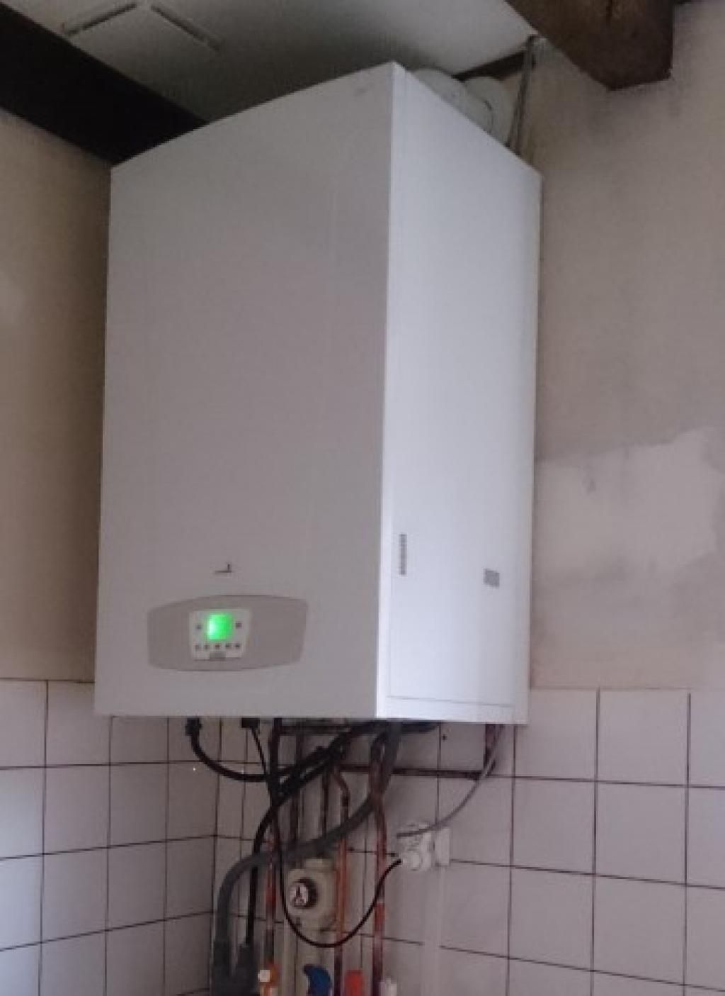 Chaudière gaz à condensation de marque Chappée