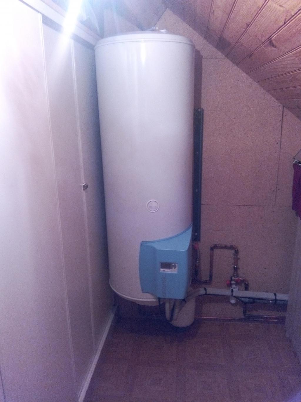 Chauffe eau Thermodynamique split de marque ATLANTIC
