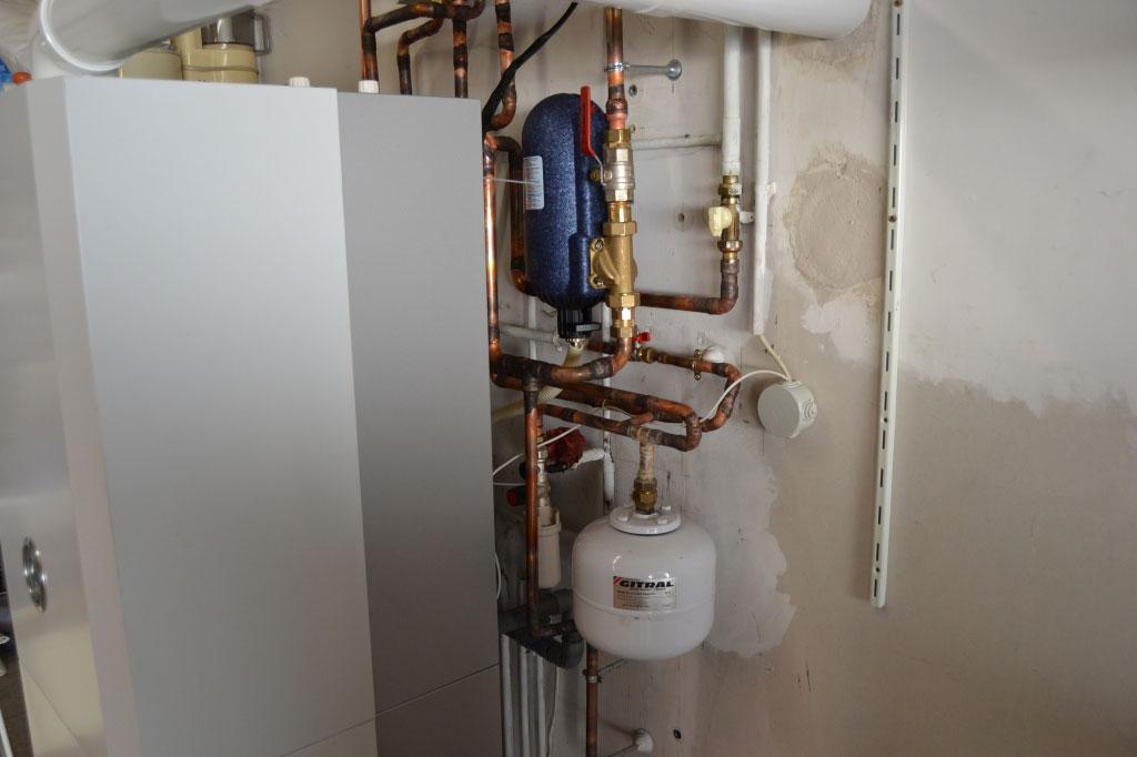 Chaudière gaz à condensation de marque Vergne Innovation