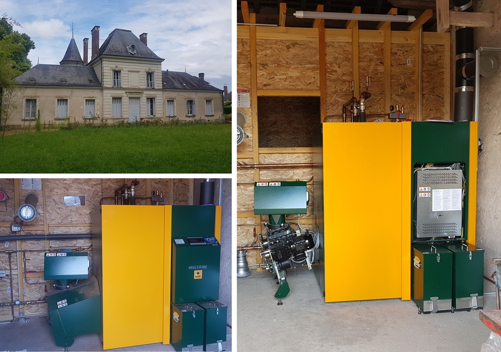Installation d'une chaudière à granulés KWB