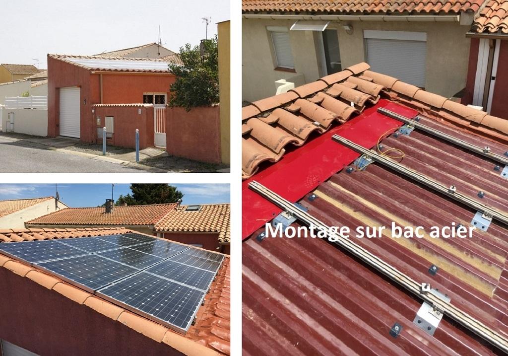 Reprise d'une installation photovoltaïque défectueuse