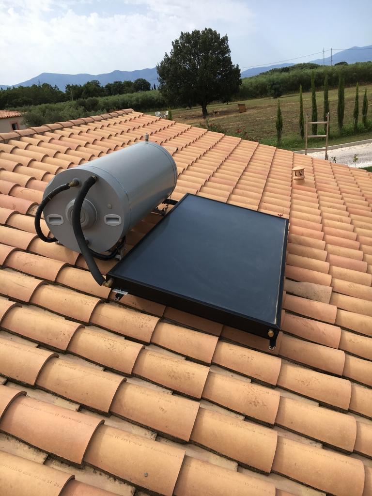 Mise en place d'un chauffe solaire thermosiphon-Pyrénées Orientales (66)