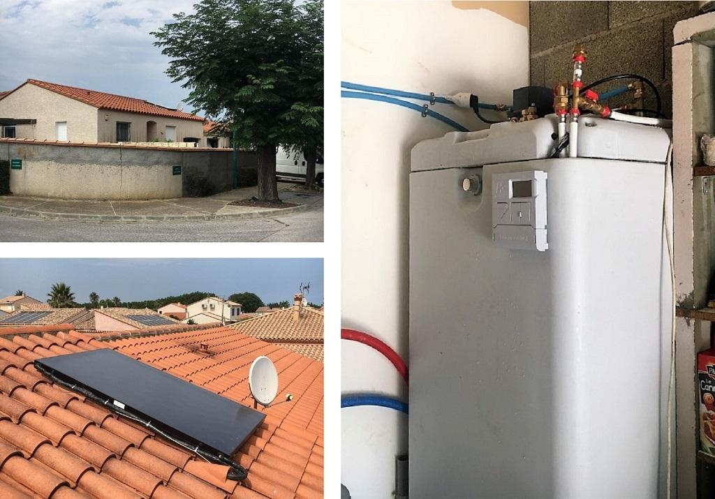 Chauffe eau solaire auto vidangeable-Pyrénées Orientales (66)