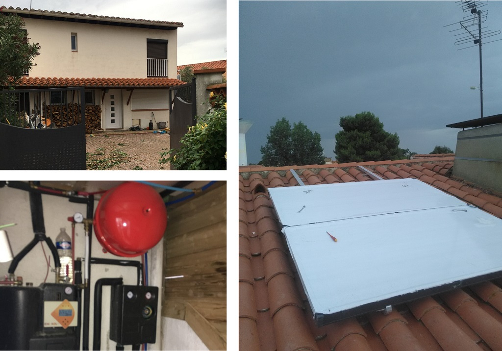 Chauffe eau solaire combiné-Pyrénées Orientales (66)