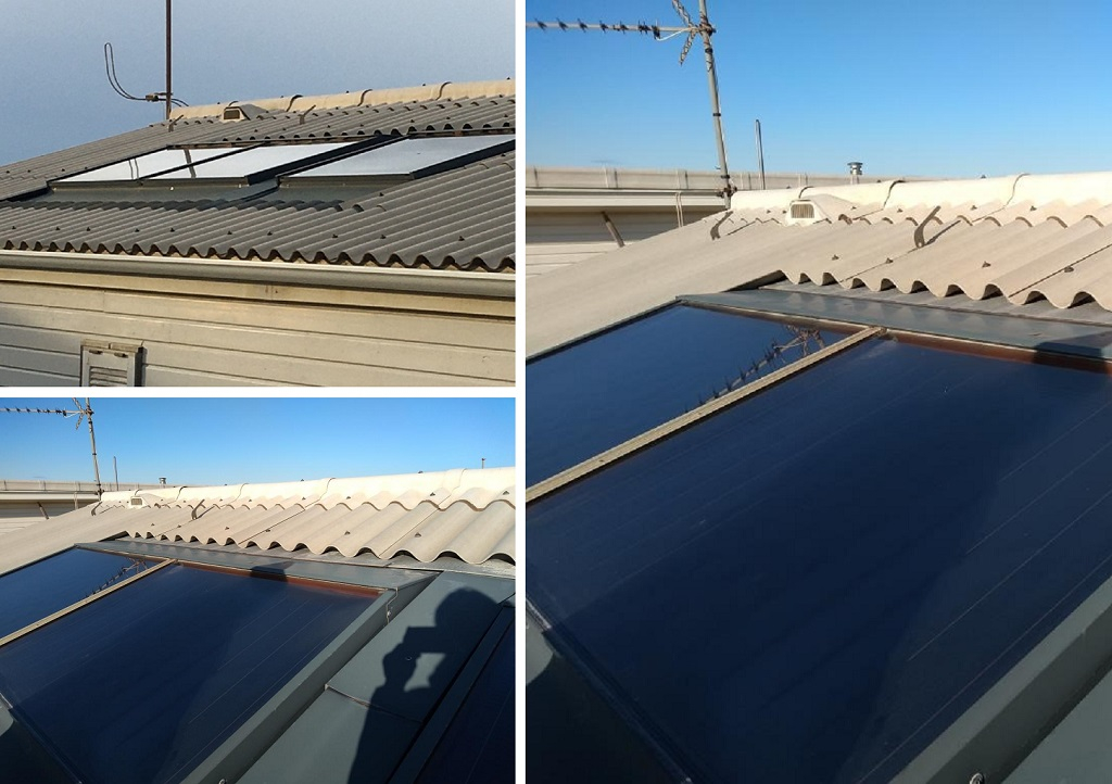 Dépose d'une installation solaire