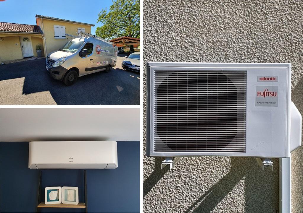 Installation climatisation réversible- Installateur Qualipac RGE-Loire (42)