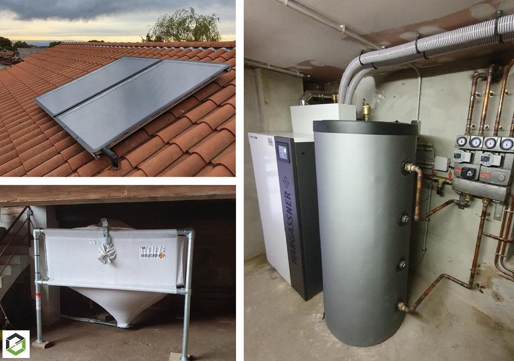 installation-chaudiere-a-granules-hargassner-avec-silo-textile-et-chauffe-eau-solaire-en-remplacement-chaudiere-fioul-rhone-69