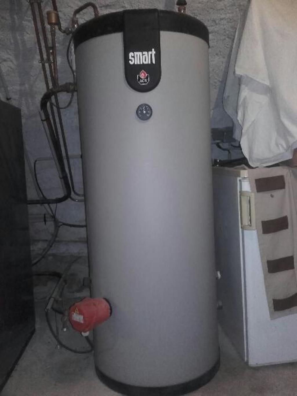 Installation chaudière à granulés P1 - FROLING au Buisson
