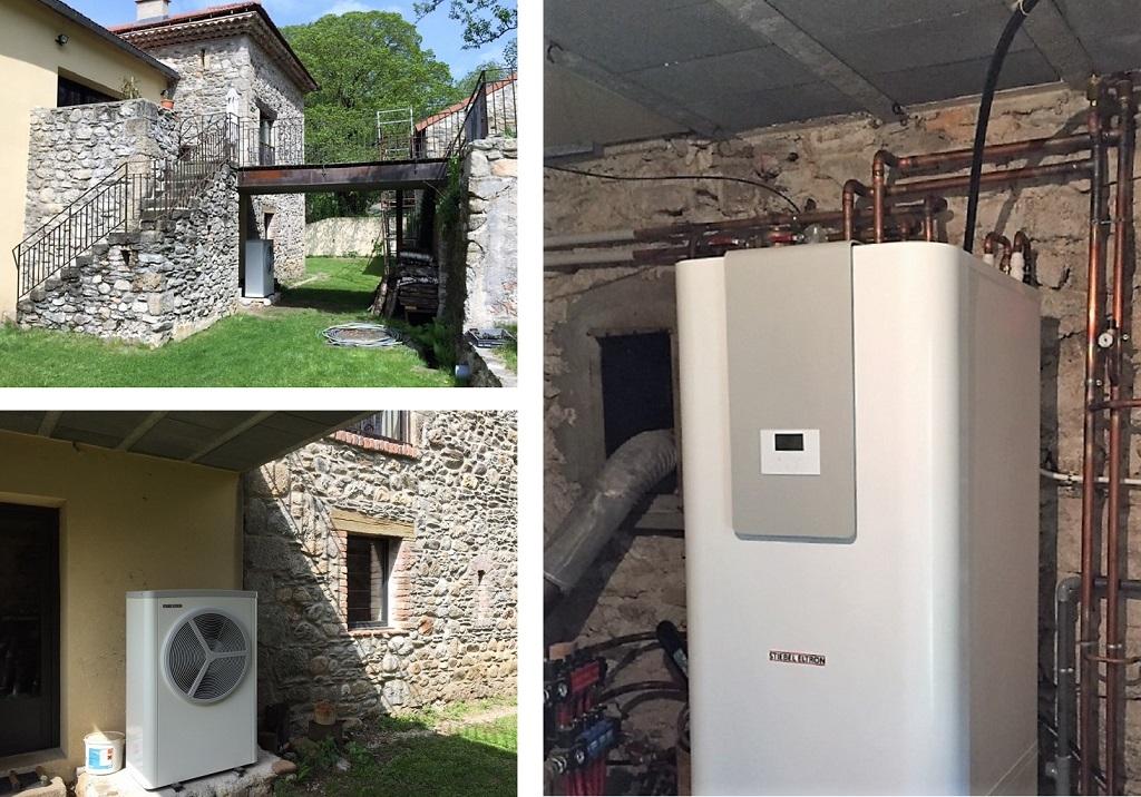 Installation pompe à chaleur Aérothermie - STIEBEL ELTRON-Lozère (48)