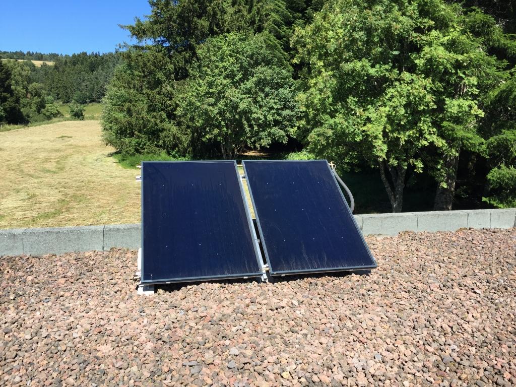 Installation panneaux solaires thermique CESI DIETRISOL  pour ECS DE DIETRICH aux Truteaux