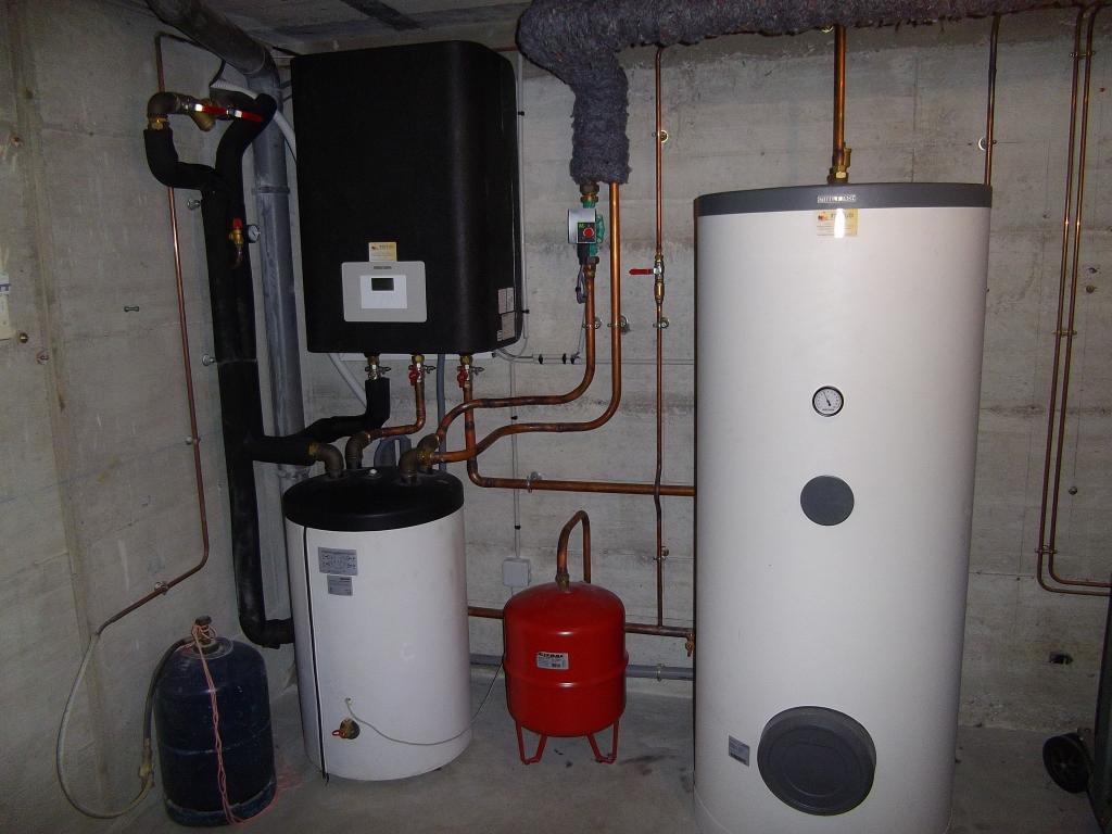 Installation pompe à chaleur Air-Eau WPL22S TREND de Stiebel Eltron