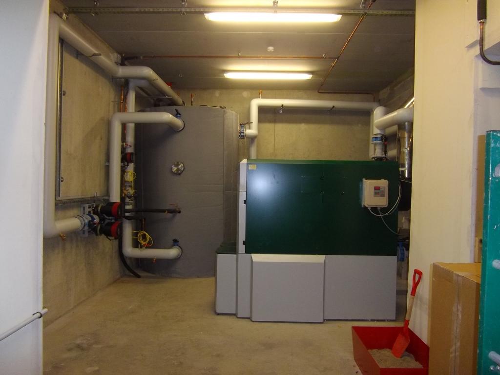 Installation d'une chaudière granulés bois FIREMATIC 251 de Herz