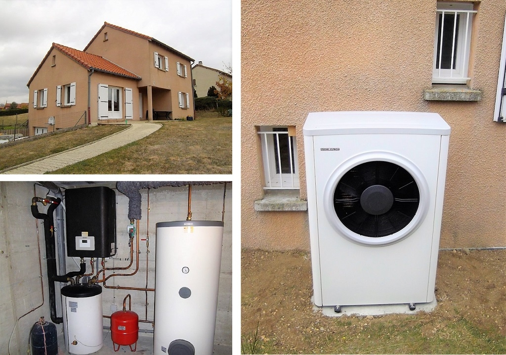 Installation pompe à chaleur Air-Eau WPL22S TREND de Stiebel Eltron-Lozère (48)