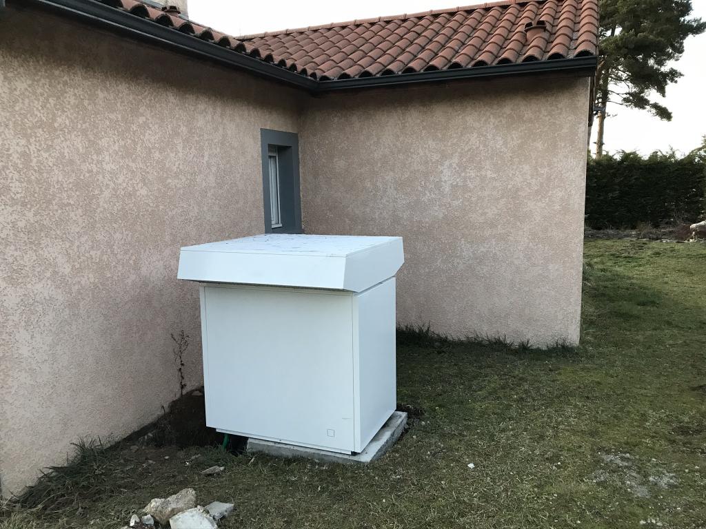 Installation pompe à chaleur aéro thermique Air-Eau Stiebel Eltron