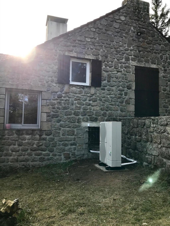 Installation pompe à chaleur Hybride Fioul Condensation De Dietrich