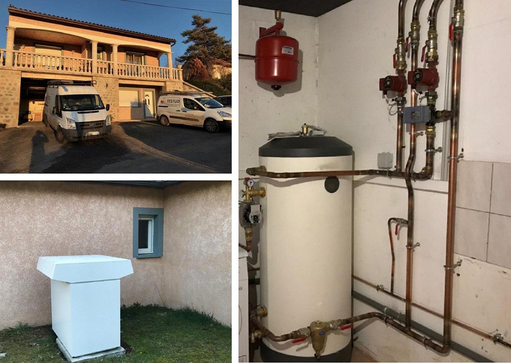 Installation pompe à chaleur aéro thermique Air-Eau Stiebel Eltron-Lozère (48)