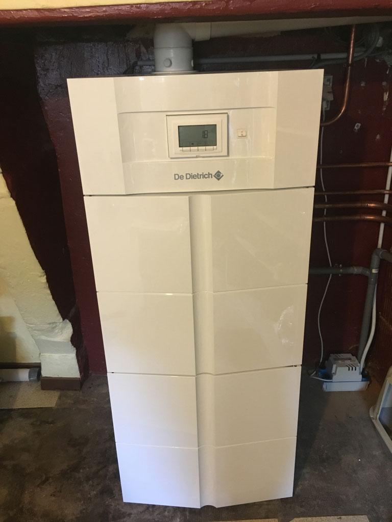 Chaudière gaz à condensation haute performance énergétique De Dietrich Twineo à Thaon les Vosges 88150
