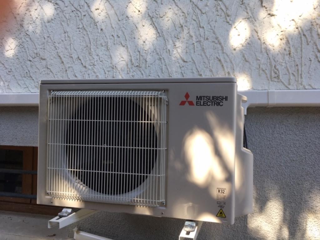Pompe à chaleur air/air (climatisation) Qualipac RGE