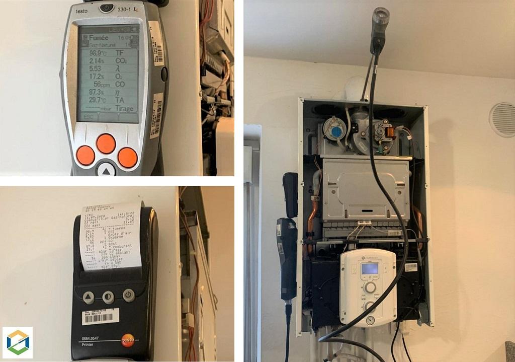Entreprise plomberie-chauffage - entretien de chaudière gaz