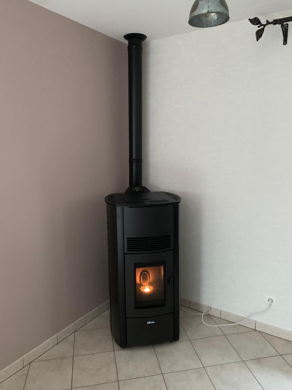 installation poêle à granulés (pellets) - Entreprise QUALIBOIS RGE-Vosges (88)