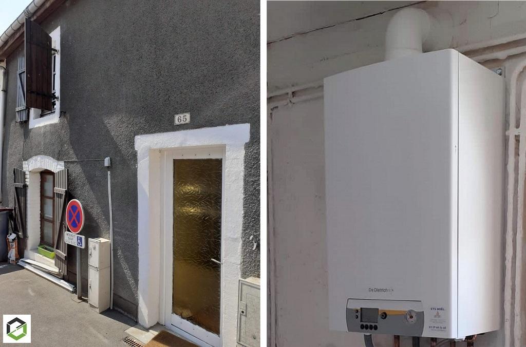 Installateur RGE chaudière gaz à haute performance énergétique