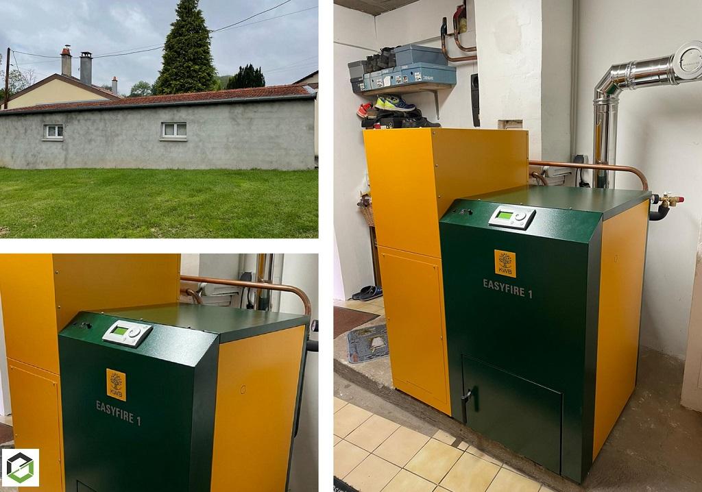 Entreprise RGE QualiBois - Installateur de Chaudière bois (pellets) KWB-Meurthe et Moselle (54)
