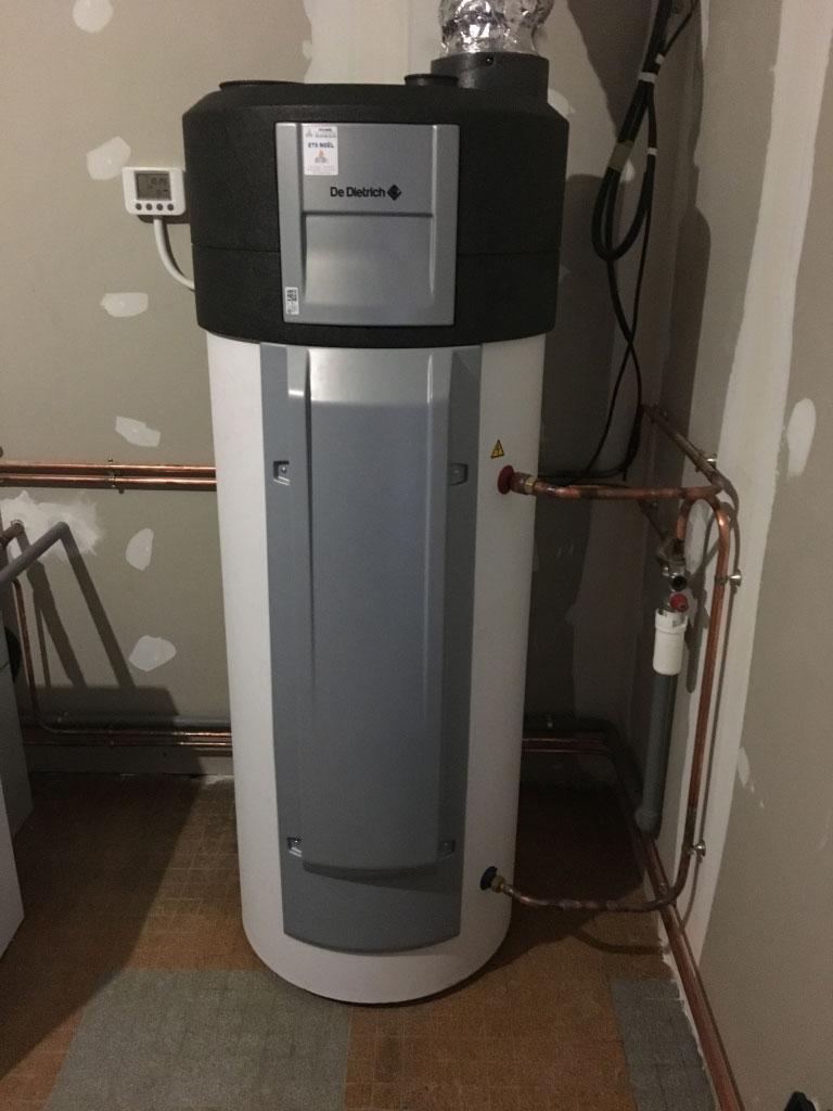 Chauffe eau thermodynamique sur air extrait (VMC) De Dietrich Kaliko à Vitrey 54330