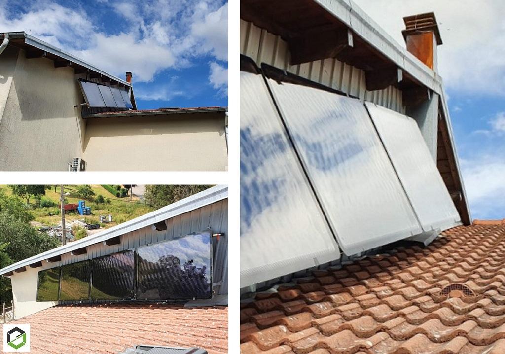Réalisation d'une installation solaire thermique