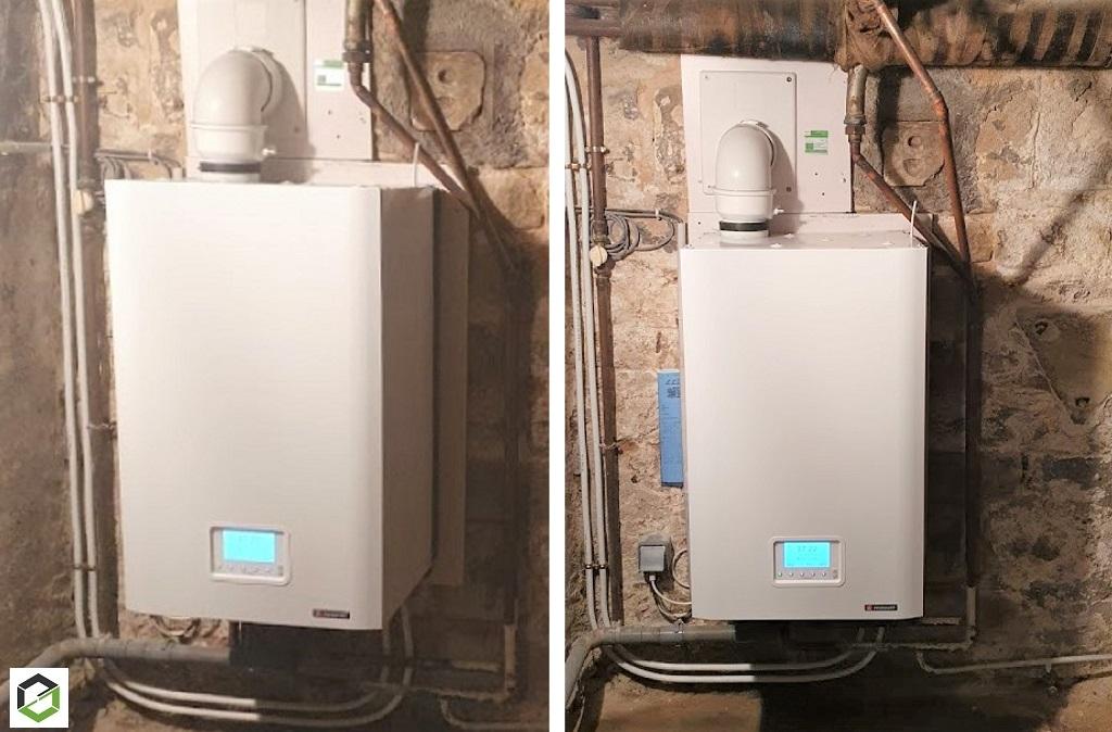 Remplacement d'une chaudière à gaz condensation