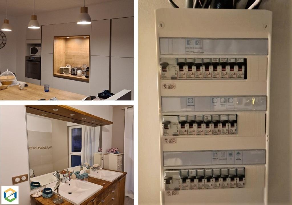 Mise aux normes installation électrique d'une cuisine