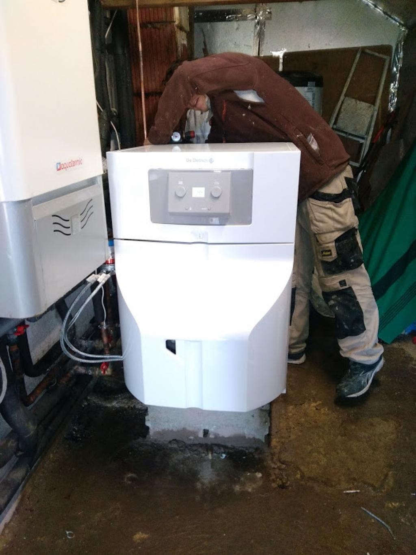 Vente installation chaudière fuel condensation DE DIETRICH
