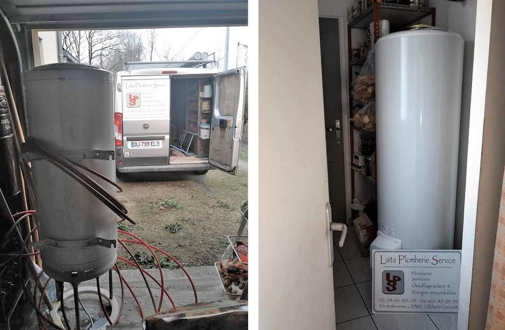 Vente installation ballon eau chaude THERMOR