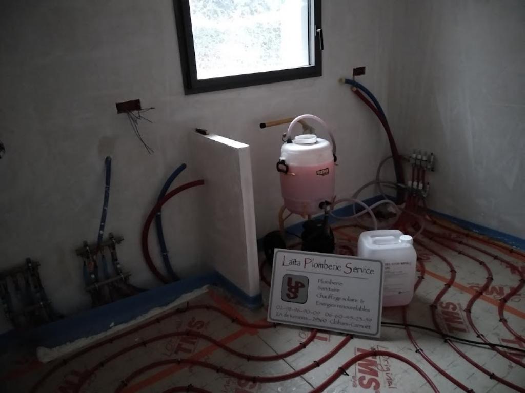 Vente et pose plancher chauffant Rénovation extension neuve LORIENT