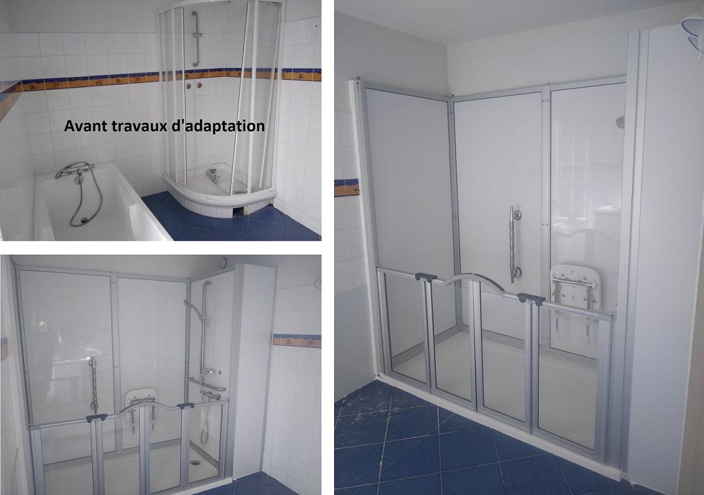 Vente installation douche PMR complète CLOHARS-CARNOET
